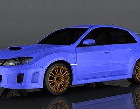 Subaru Impreza WRX 3D asset