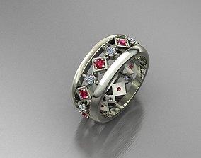 endless ring 3D printable model