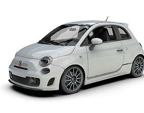 Abarth Fiat 595 500 Car 3D model