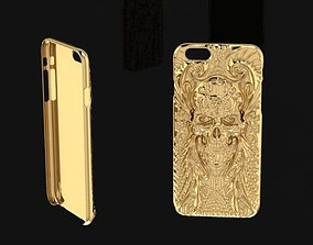 iPhone 6 gold case 268 3D print model