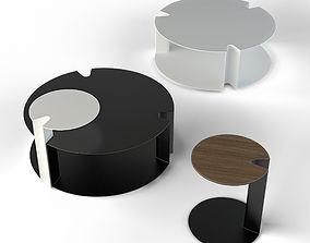 3D model SMALL TABLES BB Italia Nix