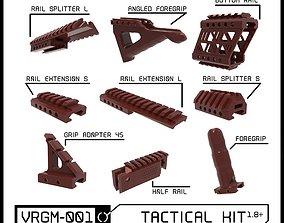 3D printable model VRGM 001 Tactical Kit for Oculus Vive 1