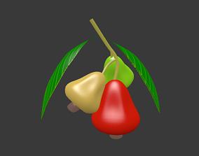 buton cashew 3D model