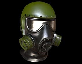 gas mask 3D asset