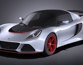 Lotus Exige 360 Cup 2017 VRAY 3D