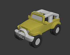 Jeep Wrangler Rubicon 3D print model