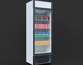 fridge capri 07 3D model