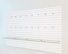 Wall Slat Unit 3D model