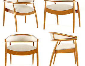 Dining Chair by James Mont 3D model