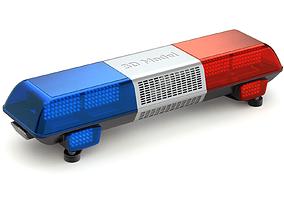 Emergency Light 3D model