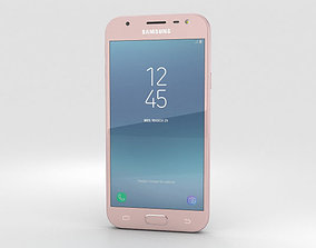 3D model Samsung Galaxy J3 2017 Pink