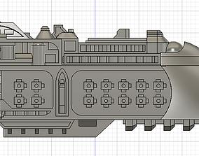 Conquest-class Star Galleon Battle Fleet Gothic 3D print