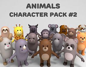 Cartoon Animals Model Pack 2 3D