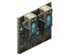 3D Heterogeneous - Grave - Wall 01