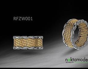 3D print model Turkish Ring for ladies