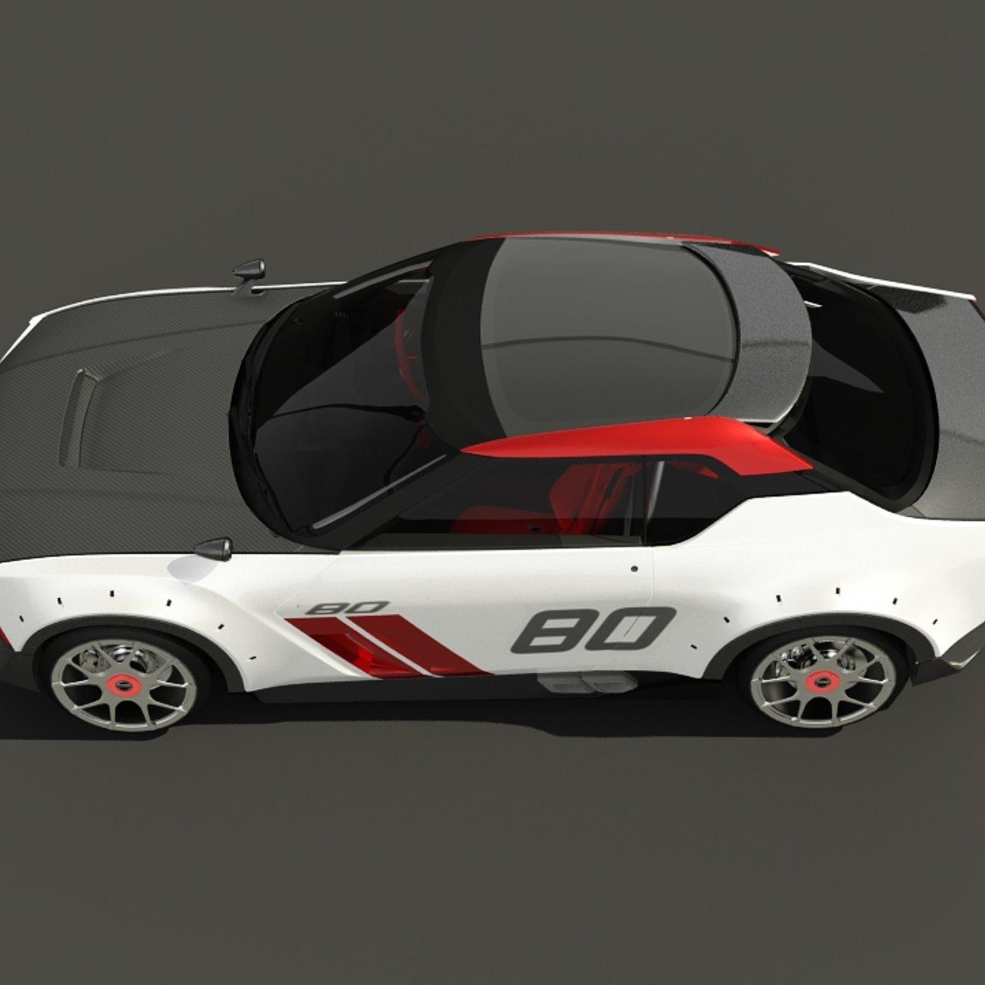Nissan Nismo IDX 2019 Low poly