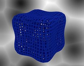 Round Cube Math Art 3D print model