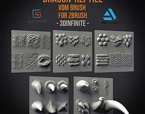 30 Dragon reptile VDM Brush 3D