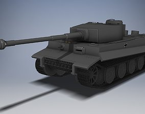 Panzer VI Tiger 3D printable model