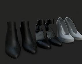 3D asset High Heels