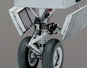 3D SPACE SHUTTLE Landing Gear