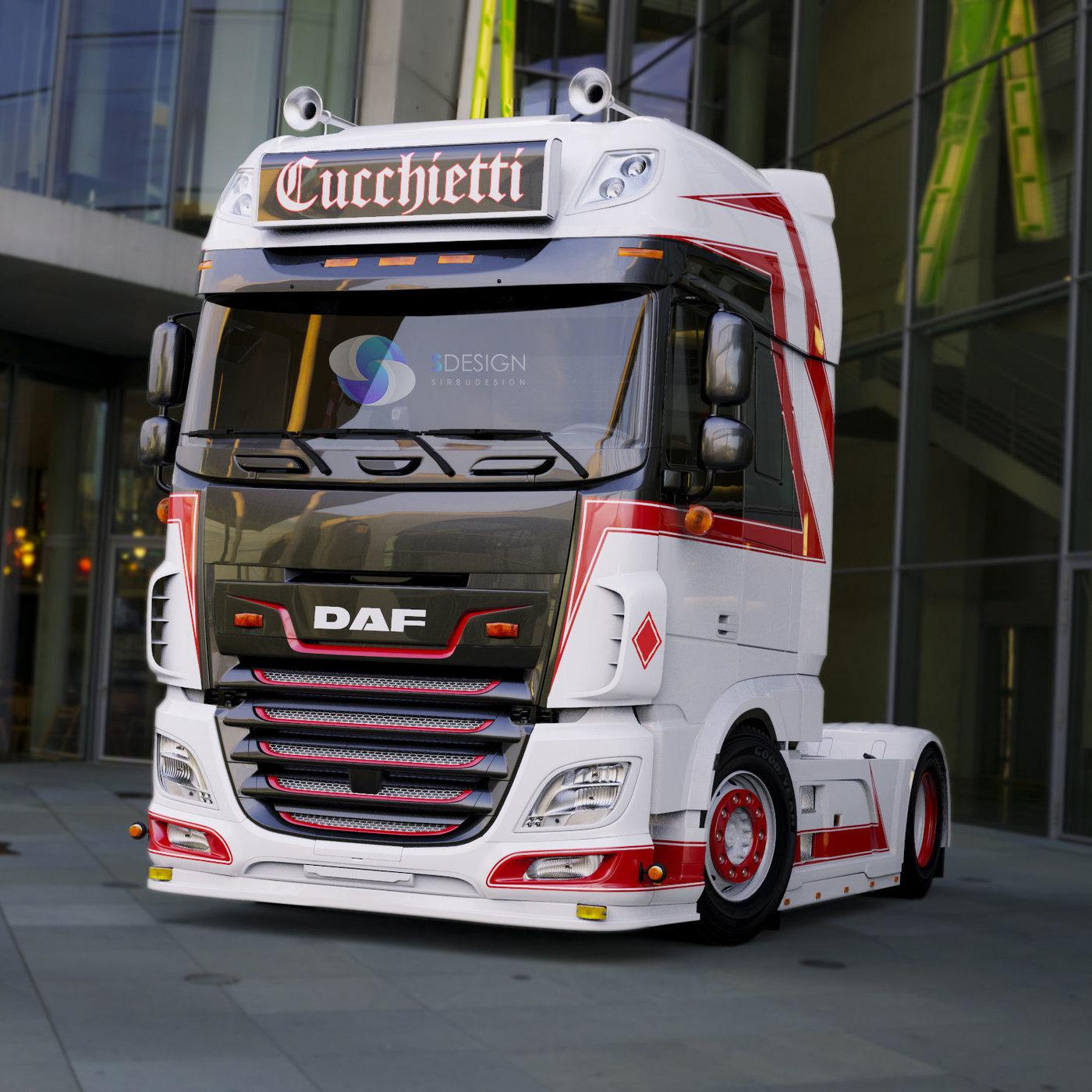 Daf euro 6 Autotrasporti Cucchietti