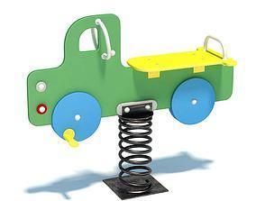 Playground Spring Truck 3D model
