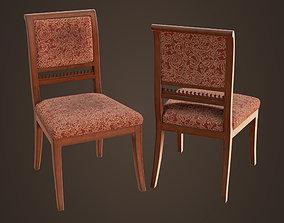 3D model Old vintage chair