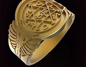 King Solomon Ring 3D printable model