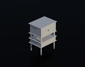3D asset Nightstand 05