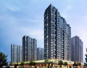 3D model Multi-storey Elite Building