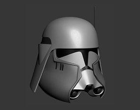 Commander Bacara Cosplay Helmet 3D printable model