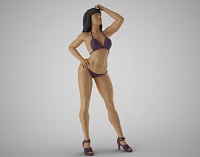 Lovely Girl 2 3D print model
