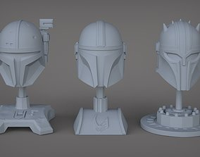 The 3 Mandalorians 3D print model