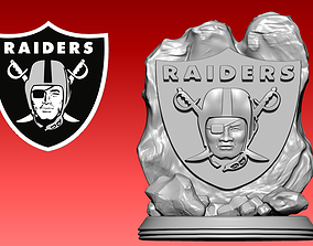 3D print model Statue Raiders - American football - NFL