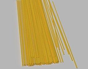Dried Spaghetti 3D model