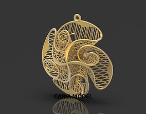 Ultra Fusion Pendant STL 3d model for 3d printing 053