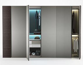 Poliform wardrobe storage 3D