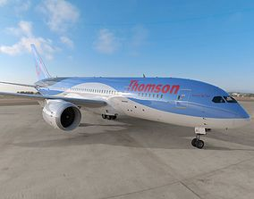 3D model Boeing 787 Dreamliner Thomson Airlines