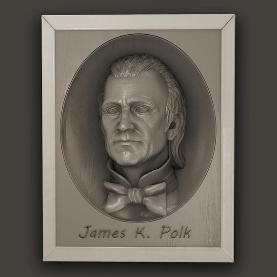 Us President James K. Polk