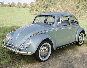 3D model real Volkswagen Beetle 1300 1963
