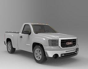3D model gmc 2012 sierra