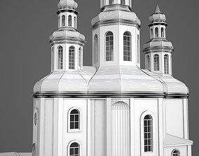 decorative 3D Church