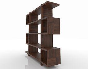 3D Modern Z Bookshelf book