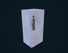 3D asset Refrigerator