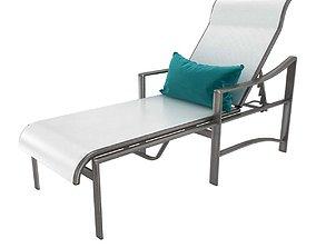 3D model Tropitone Kenzo Sling Chaise Lounge