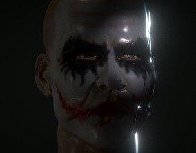3D printable model JOKER HEAD FROM THE DARK KNIGHT 2