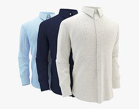 Shirt Set 3D model
