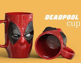 DEADPOOL SUPERHERO CUP 3D print model