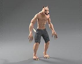 3D asset Werewolf